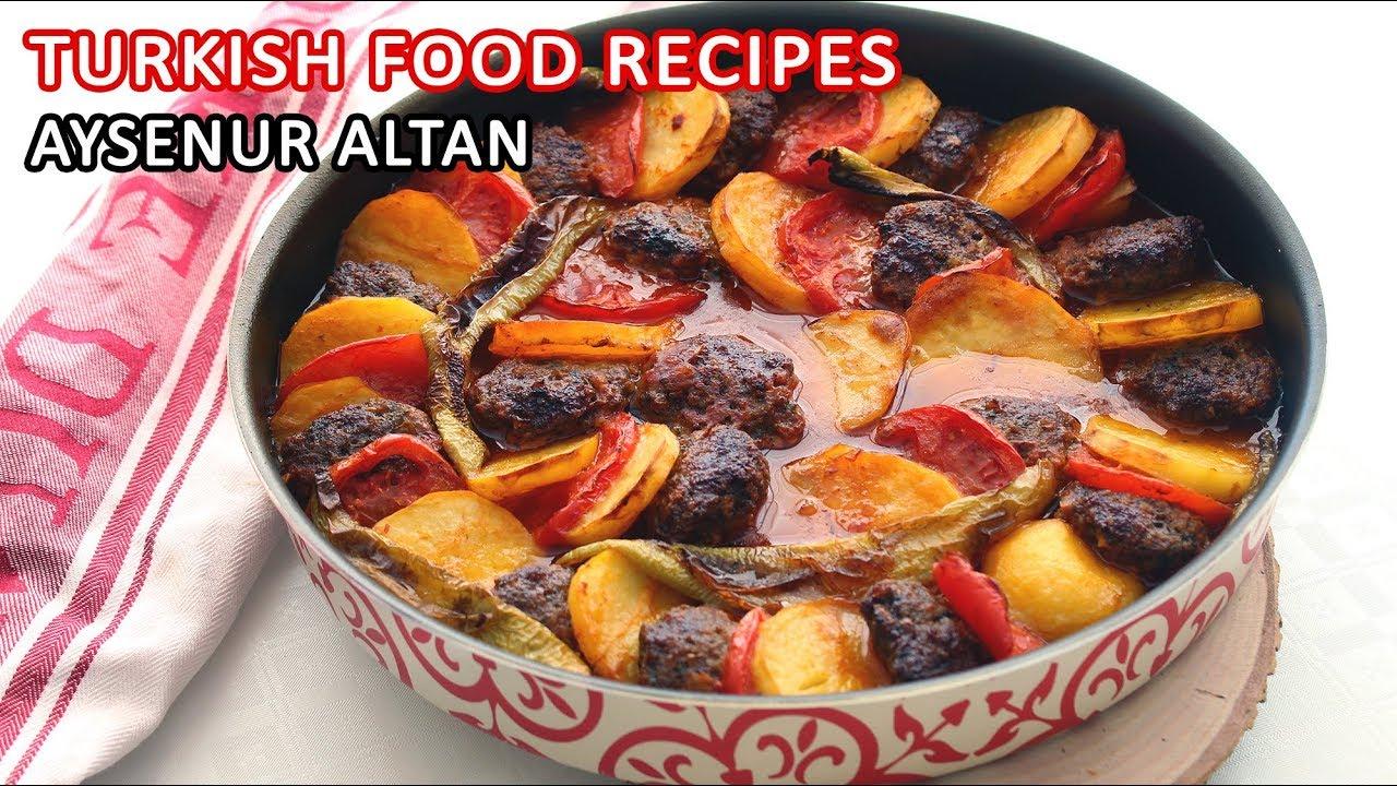 Turkish meatball and potato recipe with tomato sauce easy and turkish meatball and potato recipe with tomato sauce easy and delicious aysenur altan turkish food recipes forumfinder Choice Image