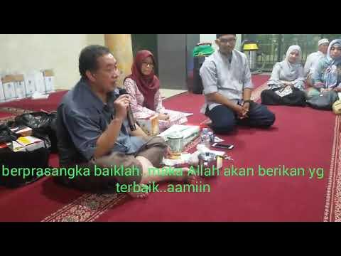 RDAY Pencerahan H Dwi Susanto Berprasangka Baik