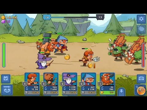 Semi Heroes: Idle & Clicker Adventure - RPG Tycoon - Gameplay Trailer (Android)