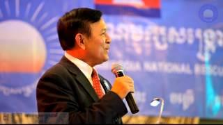 Cambodia 2013 Election: Kem Sokha highlight key policies of CNRP