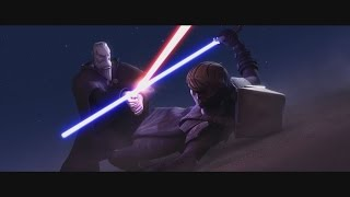 Star Wars: The Clone Wars - Anakin Skywalker vs. Count Dooku [1080p]