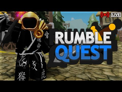 ⚔️RUMBLE QUEST LIVE⚔️|👹UNDERWORLD EXPERT👹|🗝️NEW DUNGEON GAME🗝️|🔴ROBLOX LIVE🔴