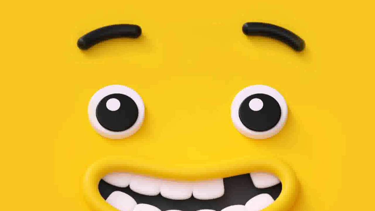 Samsung Theme Live Wallpaper Yellow Emoji Face Youtube