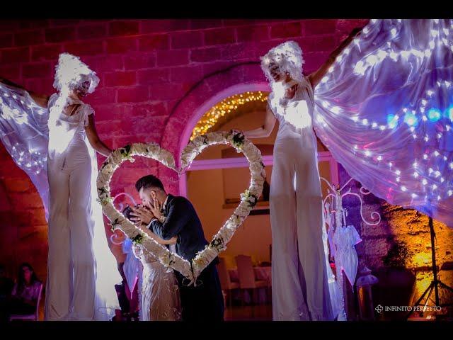 Las Brillantes - Farfalle Luminose - Artisti di strada Matrimonio Puglia