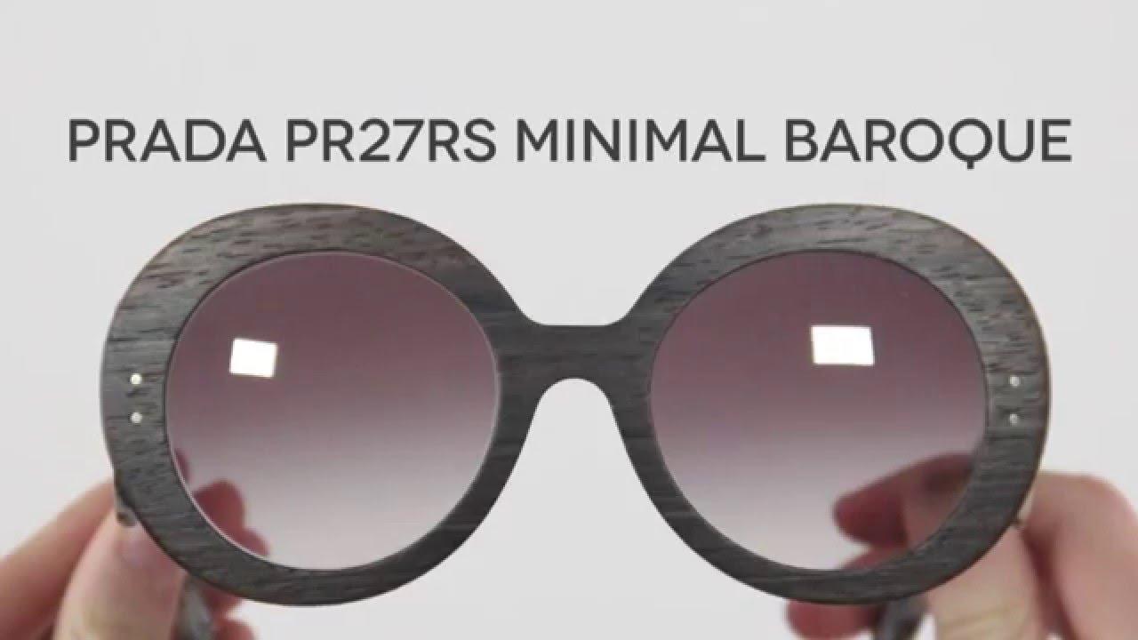 b1eec11dfc78 Prada PR27RS BAROQUE Sunglasses Review