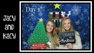 Christmas Countdown 2016 ~ Day 1 ~ Jacy and Kacy