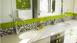 видео Обновляем интерьер ванной с декоративной штукатуркой