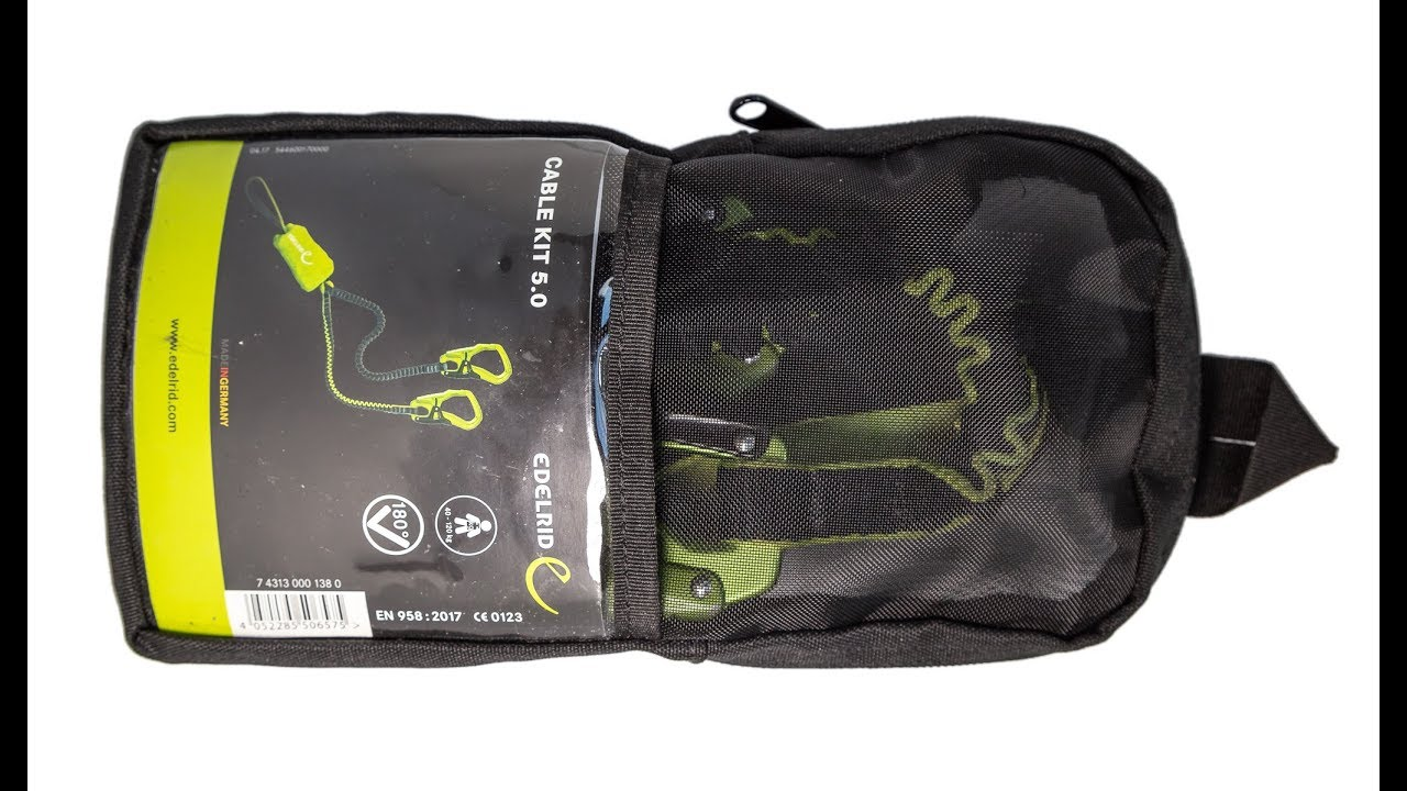 Klettersteigset Worauf Achten : Edelrid cable kit 5.0 klettersteigset im test ⛰ youtube