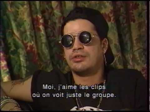 Slash's Snakepit – French tv 1995 interview (rare footage)