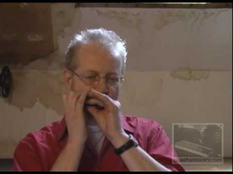 Steve Baker Blues Harmonica Interview - Minor Playing