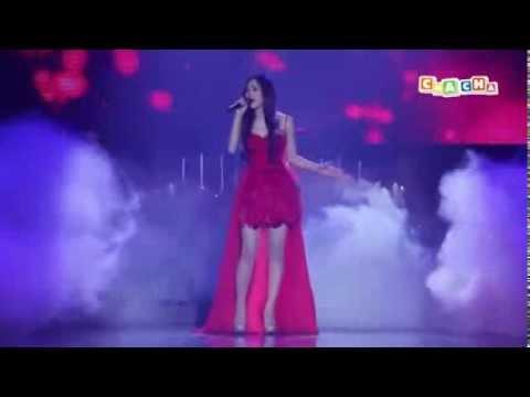 Sốc với giọng hát live cực hay của Minh Hằng trong liveshow 2014