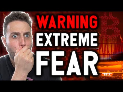 WARNING!! EXTREME FEAR AS BITCOIN SITS AT CRITICAL SUPPORT! Why I'm still bullish….