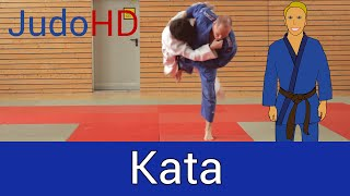 Blau: Kata [Judo]