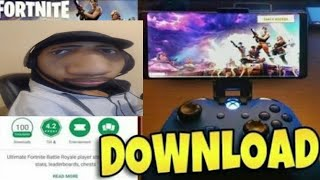 Fortnite Battle Royale APK Download (Clone) on Android || NEW FORTNITE? The game daequan played!!
