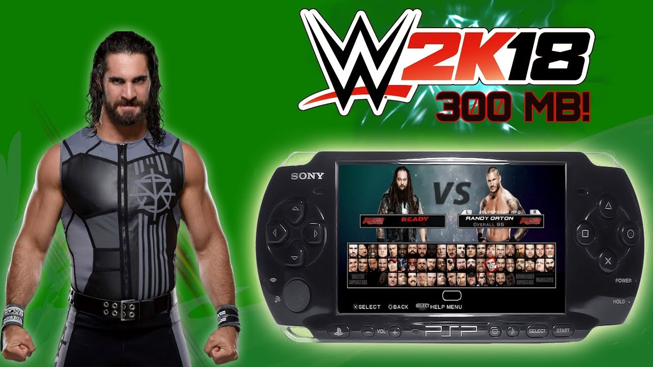 Wwe 2k18 For Ppsspp Free Download 2018 Youtube