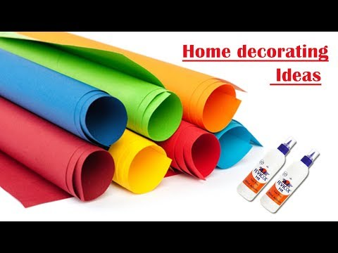 Paper Craft || Craft ideas for home decor || Home decorating ideas