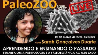 PALEOZOOBR LIVE: APRENDENDO E ENSINANDO O PASSADO