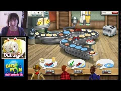 01 Burger Shop 2 Game Play / Big Fish Games