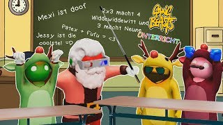 ★ Wir gehen wieder zur Schule! | Gang Beasts | Funny Moments! ★
