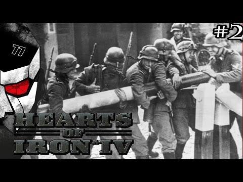 Invading Poland - Hearts of Iron IV HOI4 with Germany - #2