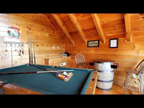 """""""Catch Of The Day"""" Sherwood Forest Cabin in Pigeon Forge, TN - Cabins USA 2015"""