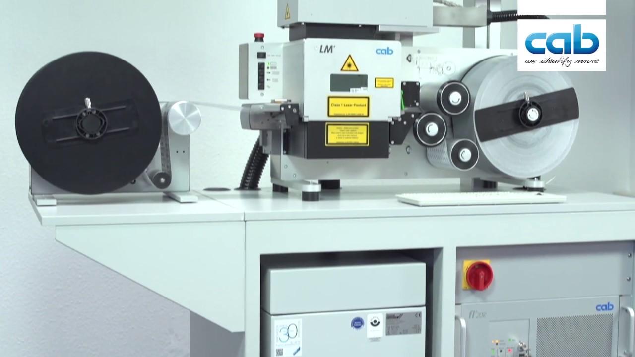 Laser label marker LM+   marking lasers   cab
