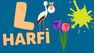 L Harfi - ABC Alfabe Şarkısı  Akıllı Bıdık