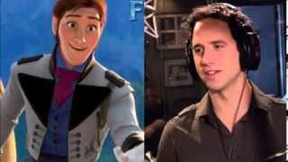 Santino Fontana - I Feel Pretty - Frozen Audition