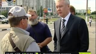 Собянин в Ясенево