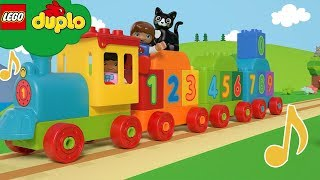 LEGO DUPLO - Learning Numbers For Toddlers - Number Train + More Nursery Rhymes | Cartoons and Songs