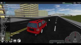 [FR] I CONDUIS OF SYMPAS SUV (Vehicle Simulator Alpha - ROBLOX)