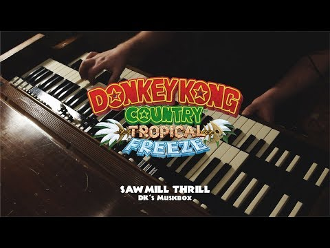 Donkey Kong Country - Sawmill Thrill Cover