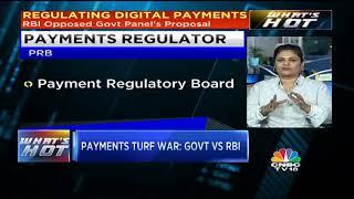 PAYMENTS TURF WAR: GOVT VS RBI
