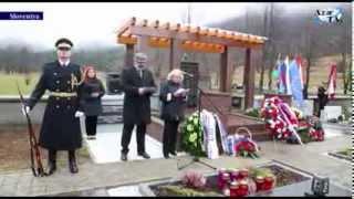 Sloveniyanın Çepovan qəsəbəsində Mehdi Hüseynzadənin memorial abidəsi açılıb
