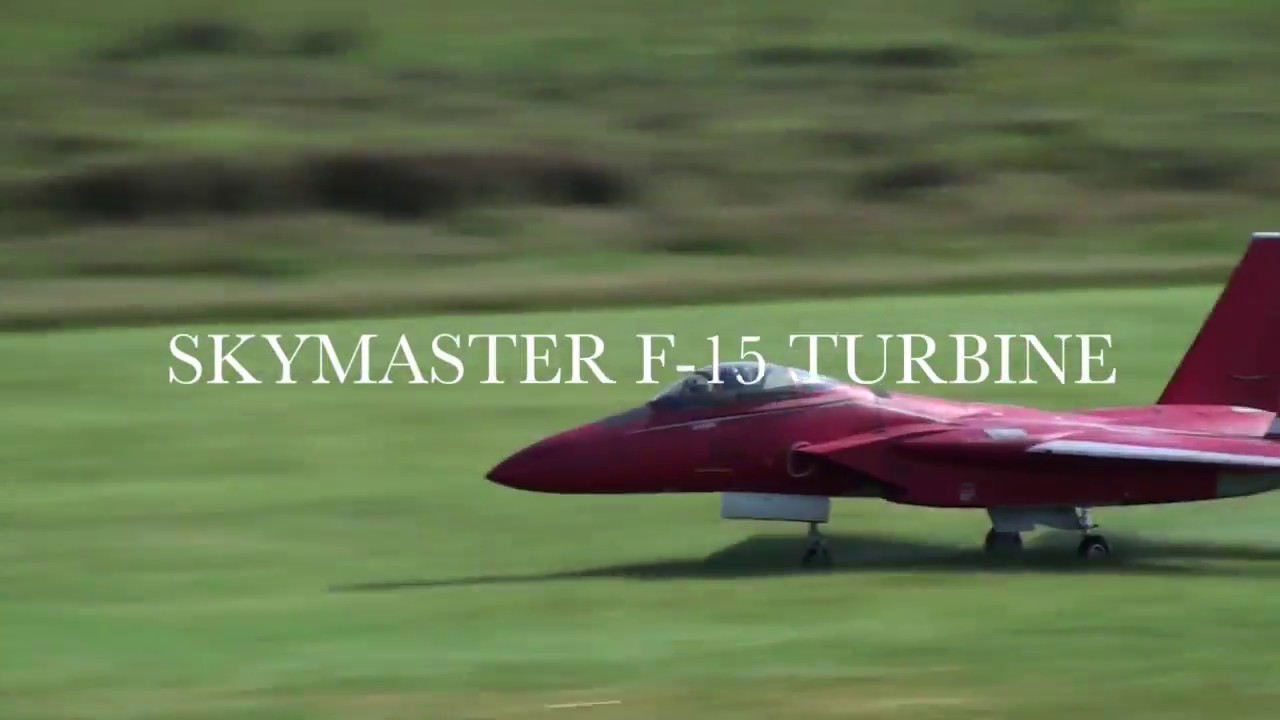 Michael Wargo Maiden Flight of His SKYMASTER F 15 Turbine Jet