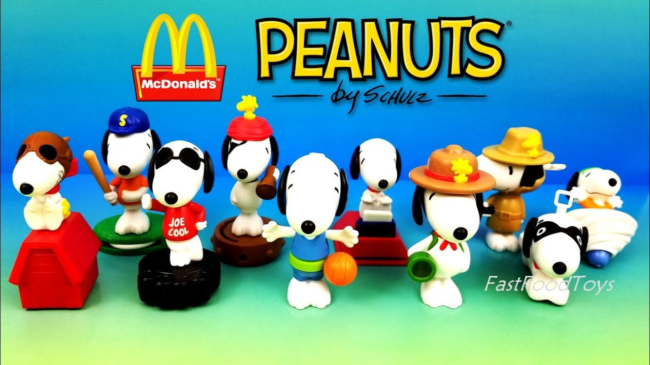 7e20ff7ff1 2018 McDONALD S PEANUTS SNOOPY WORLD HAPPY MEAL TOYS FULL SET 10 KID  CHINESE LUNAR NEW YEAR DOG ASIA