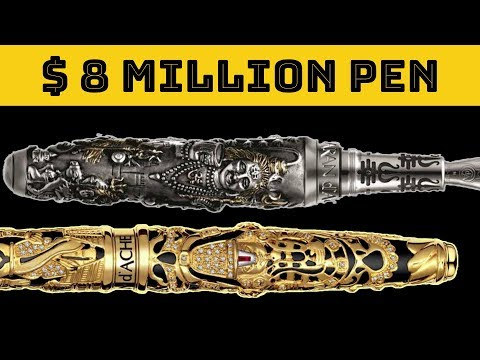 Top 10 Most Expensive Pens In The World | The Magical Indian