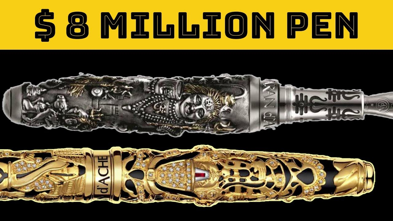 Top 10 Most Expensive Pens In The World The Magical Indian