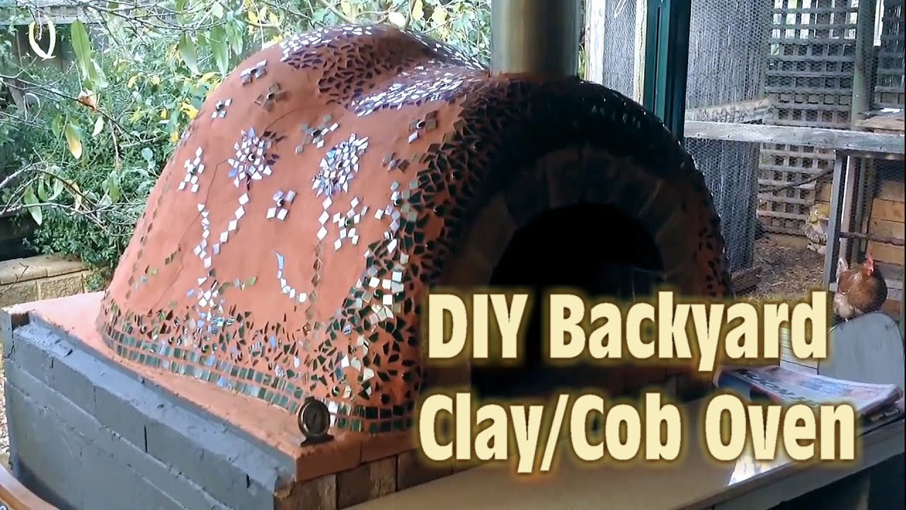 The ultimate clay cob oven video youtube - Make a house a home ...