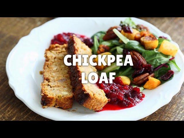 CHICKPEA VEGGIE LOAF – VEGAN MEATLOAF - Nutfree | Vegan Richa Recipes