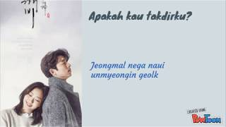 OST Goblin Stay With Me Chanyeol EXO & Punch Indonesia Lyric (Rainbow Cupcake)
