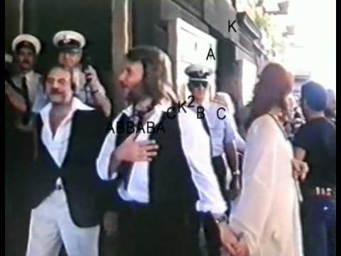 ABBA RARE NEWS FEED OF THEIR ARRIVAL IN MELBOURNE 1977 WITH RAW AUDIO