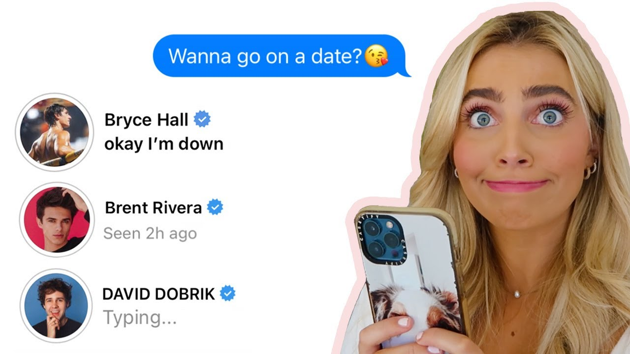 DMING 100 CELEBRITIES AND ASKING THEM OUT