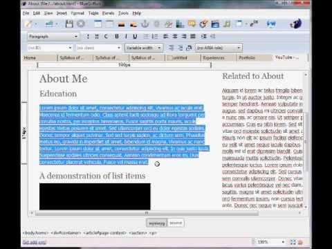 BlueGriffon HTML Editor