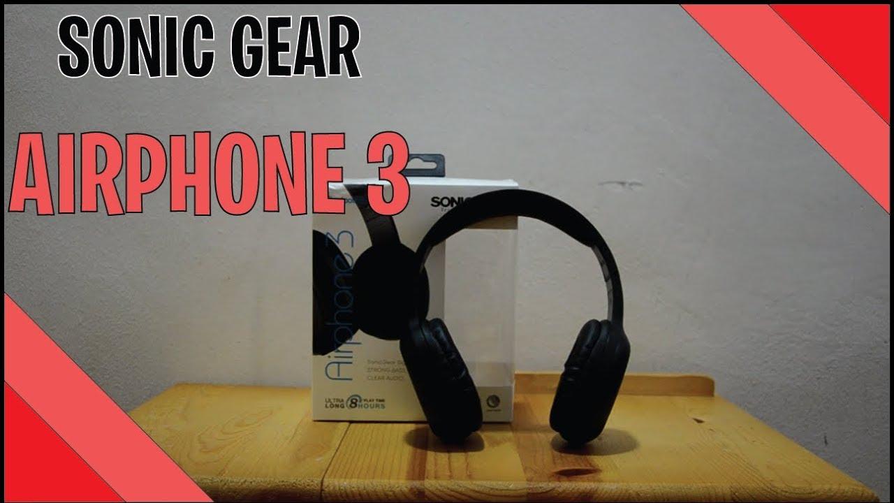 81133743068b08 Review/Unbox - SONICGEAR AIRPHONE 3 BLUETOOTH HEADPHONE [BM/MY] [MALAYSIA]