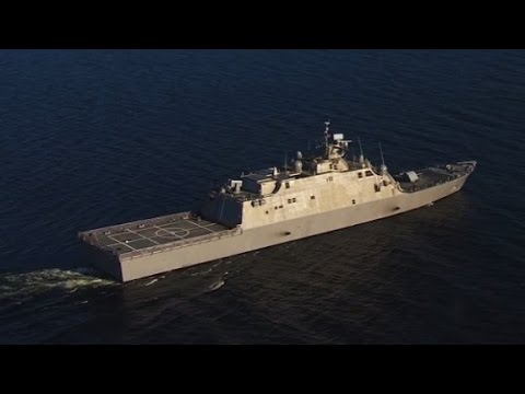 Navy tests new warship