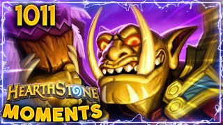 IS THAT SUPPOSED TO HAPPEN!? | Hearthstone Daily Moments Ep.1011