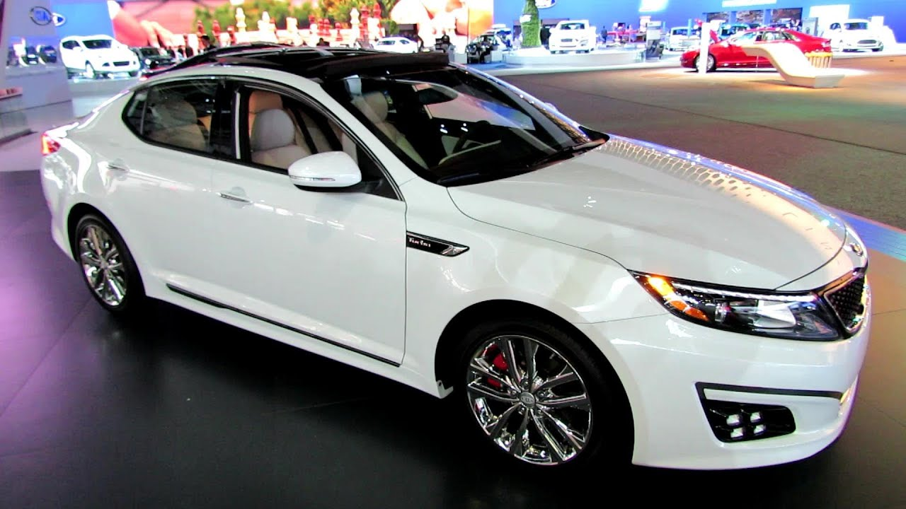 2014 kia optima sxl exterior and interior walkaround 2013 la auto show youtube for 2015 kia optima sxl turbo interior