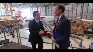 Qantas Celebrates Investment in Brisbane A330 Heavy Maintenance