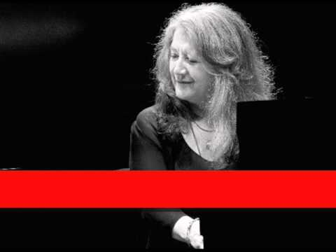 Martha Argerich: Bach - Toccata In C Minor, BWV 911